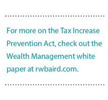 More on the Tax Increase Prevention Act,