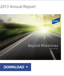Baird's 2013 Annual Report