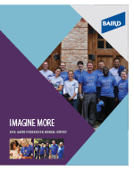 2016 Baird Foundation Annual Report