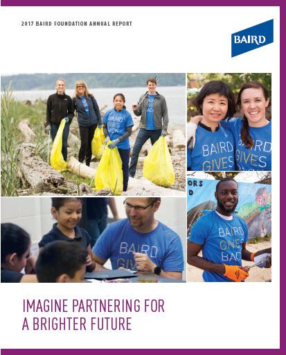 2017 Baird Foundation Annual Report