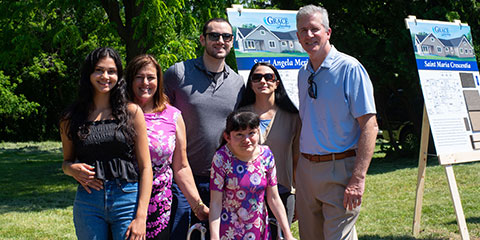 Duane McAlliser and Family - Grace Landing - A community-based residential home for adults.