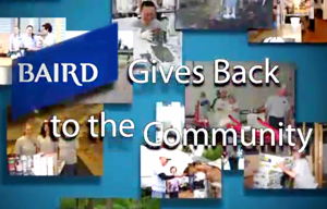 Baird Gives Back to the Community Video