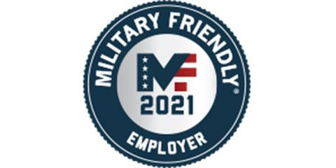 2021 Military Friendly Employer Logo