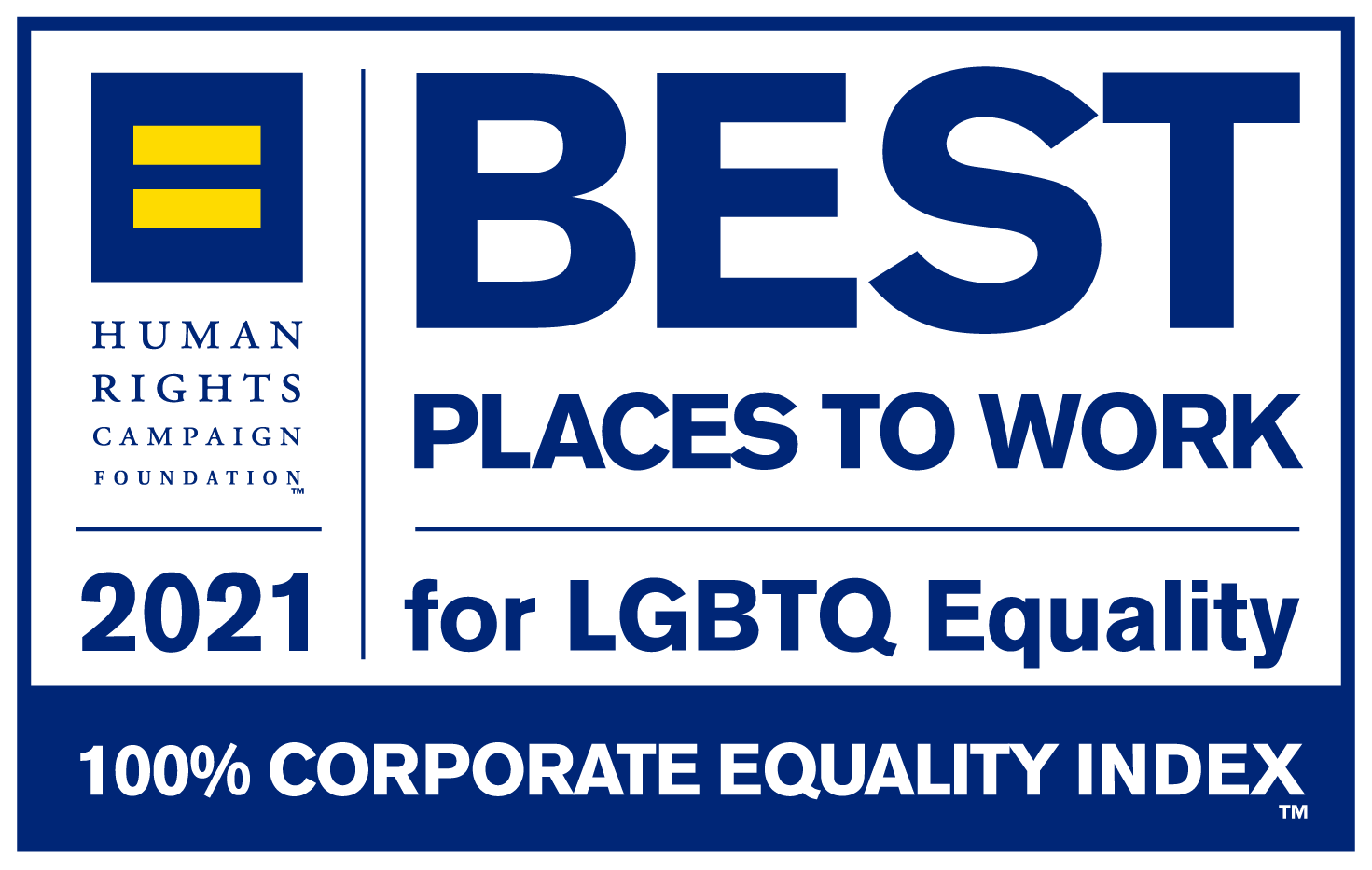 Corporate Equality Index's Best Places to Work For LGBTQ Equality