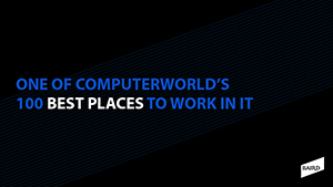 IDG Insider Pro and Computerworld's 2020 Best Places to Work in IT