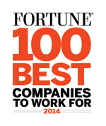 Fortune 2014 100 Best Companies to Work For