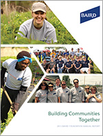 2015 Baird Foundation Annual Report