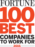 FORTUNE 100 Best Companies to Work For 2015