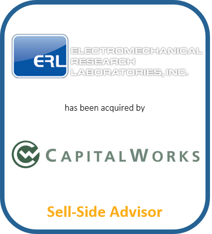 Electromechanical Research Laboratories, Inc. has been acquired by CapitalWorks | Sell-Side Advisor