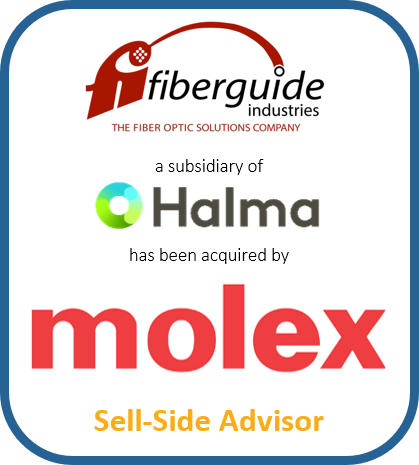 Fiberguide Industries a subsidiary of Halma has been acquired by Molex | Sell-Side Advisor