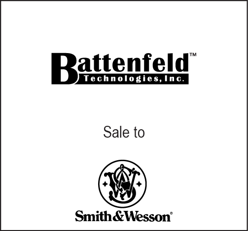 Battenfeld to Smith & Wesson