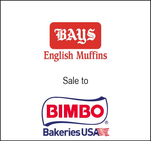 Bay's English Muffins sale to Bimbo Bakeries USA