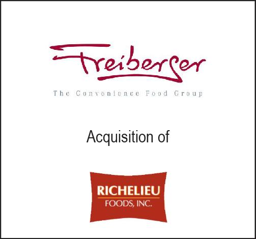 Freiberger acquision of Richelieu