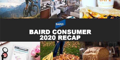 Baird's Consumer 2020 Recap Report Cover