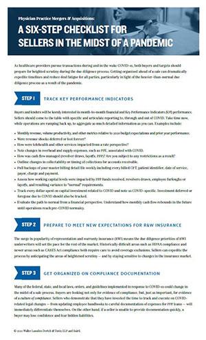 M&A Checklist