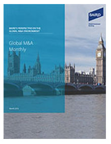 Global M&A Montly