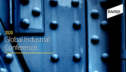 Baird's Virtual Global Industrial Conference