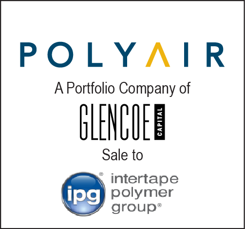 Polyair - a portfolio company of Glencoe Capital