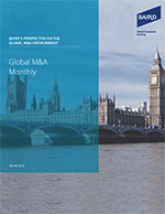 Global M&A Monthly