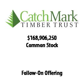 CatchMark Timber Trust, Inc.