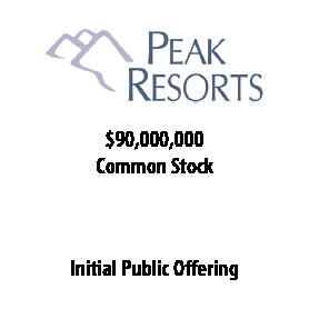 Peak Resorts
