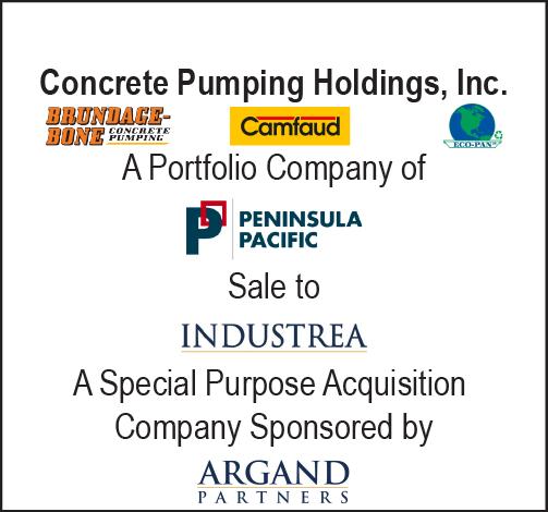 Concrete Pumping Holdings, Inc.