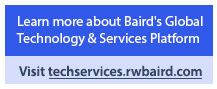 Learn more about Baird's Global Technology & Services Platform