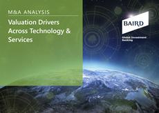 Valuation Drivers Across Tech & Services