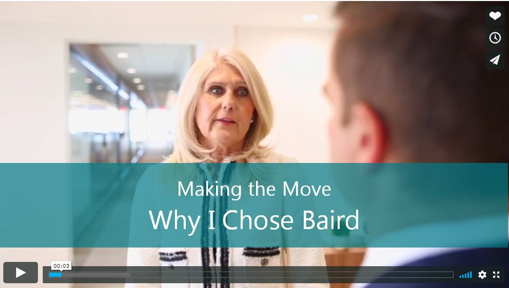 Why I Chose Baird